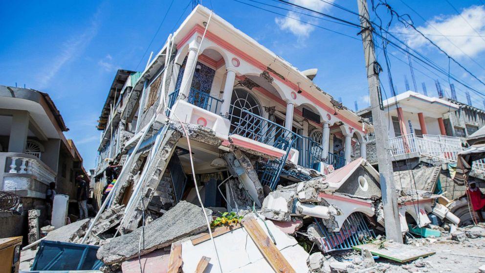 Tremblement de terre à Haïti
