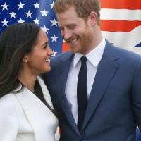 Harry et meghan markle entre deux continents