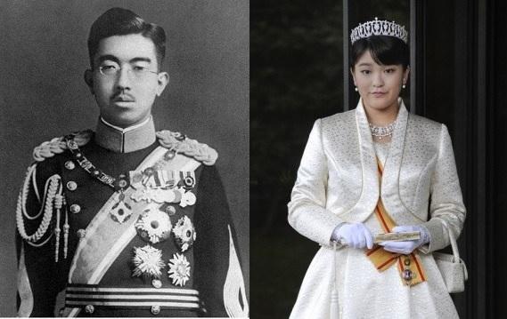 Hiro- Hito et Mako d akishino