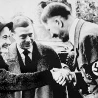 Hitler salue wallis warfield simpson