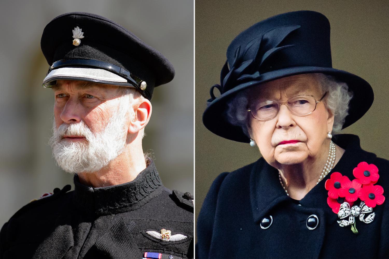 Michael de Kent et Elizabeth II
