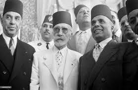 Lamine Ier et Habib Bourguiba (gacuhe)