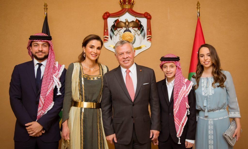 La famille royale de Jordanie