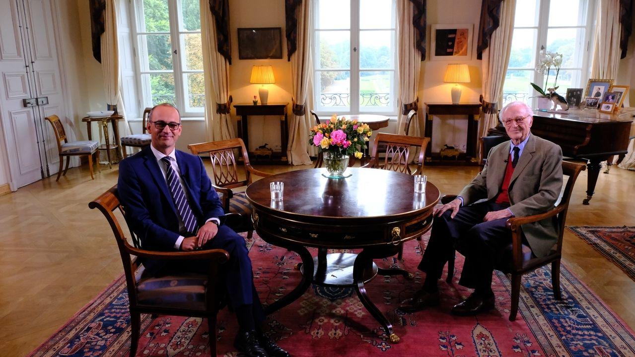 Interview du prince Franz de Baviere Photo BR24