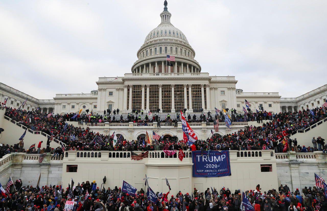 Invasion du capitole le 6 janvier 2021