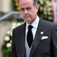 Jean orleans comte paris aux funerailles s a r grand duc jeana cathedrale notre dame luxembourg mai 2019