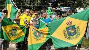 Monarchistes au Brésil