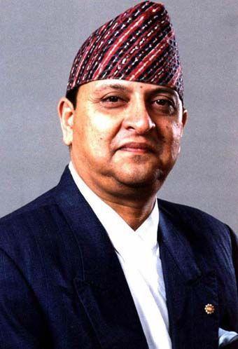 Le roi Gyanendra du Nepal