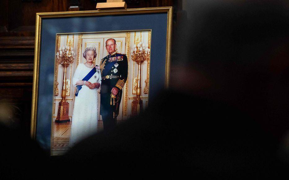 Portrait d'Elizabeth II et de Philip d'Edimbourg