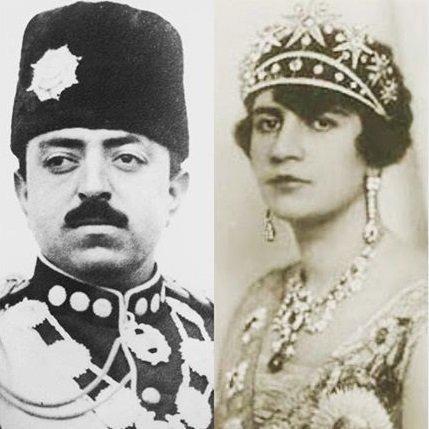 Ghazi Amanullah Khan et Soraya Tarzi