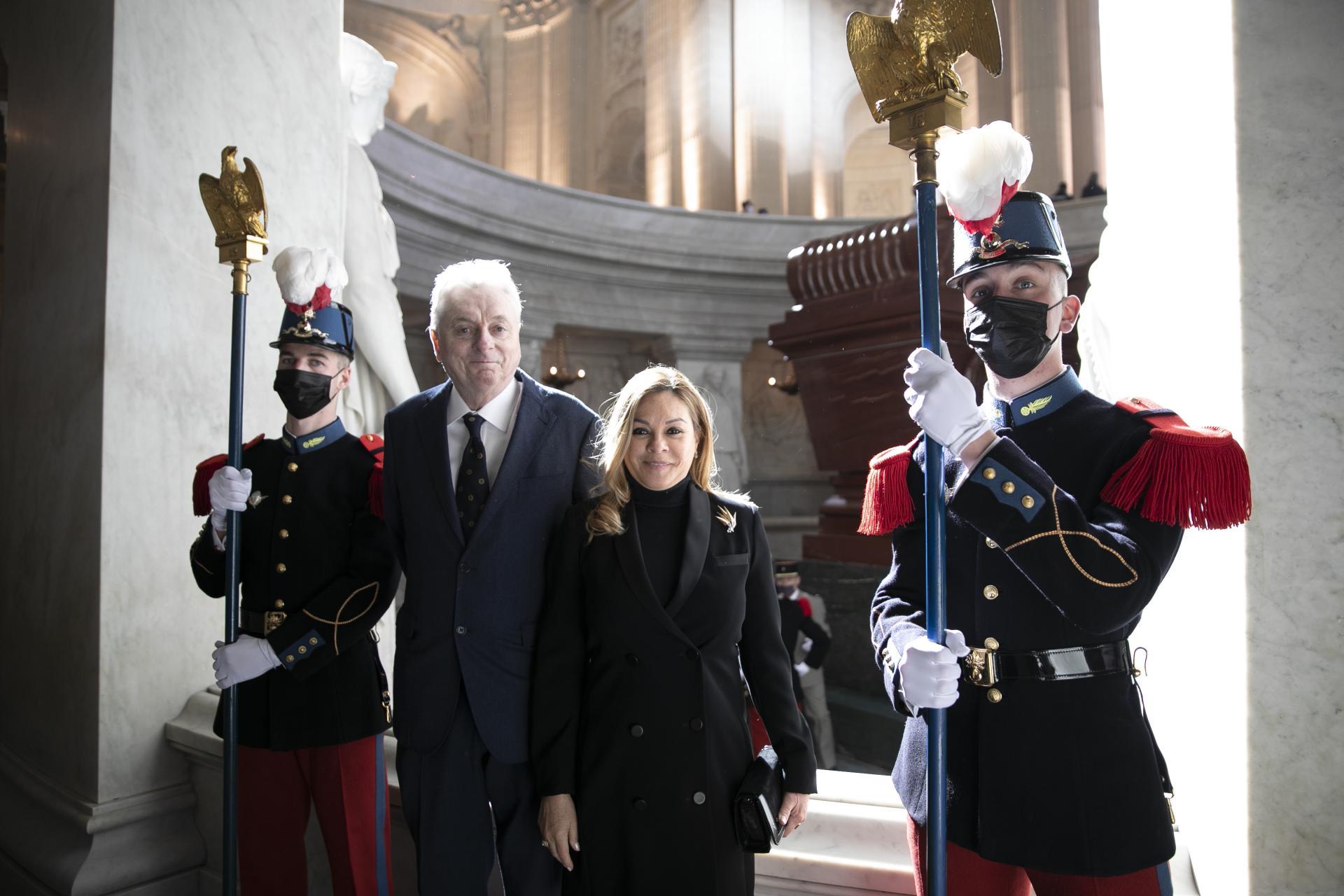 Le prince et la princesse Joachim Murat PhotoBarbaraViollet/FredericdeNatl