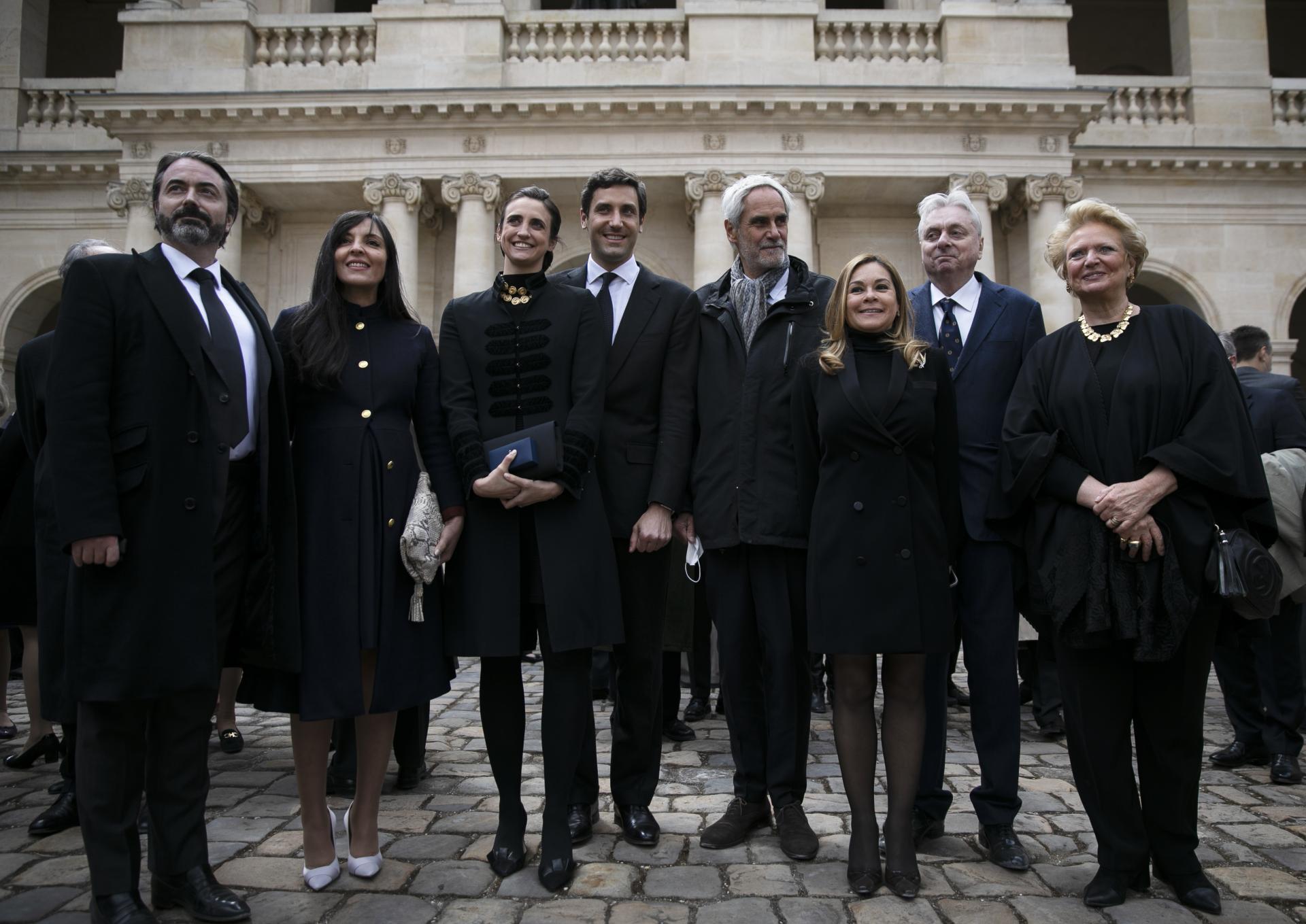 Napoléon et Murat dans la cour des Invalides Photo@Barbara