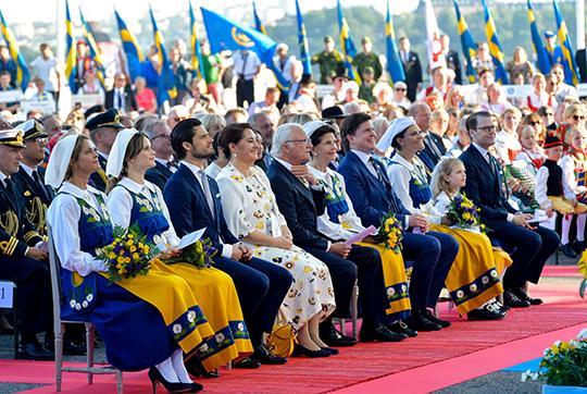 La famille royale de suede
