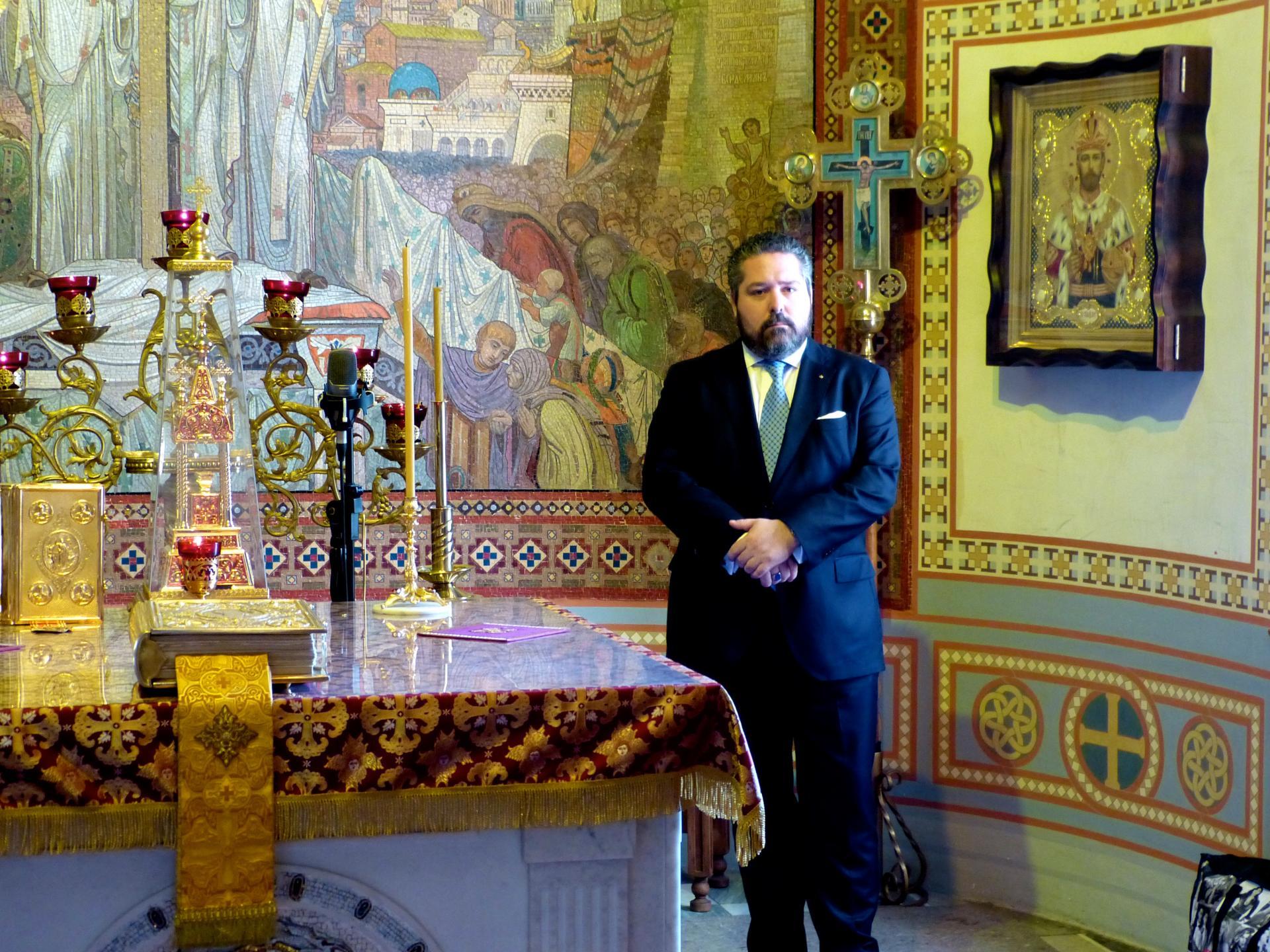 Le grand duc Georges Droits réservés Maison impériale