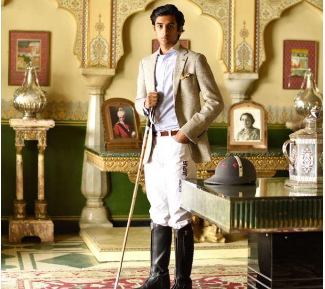 Le maharaja de jaipur un joueur de polo
