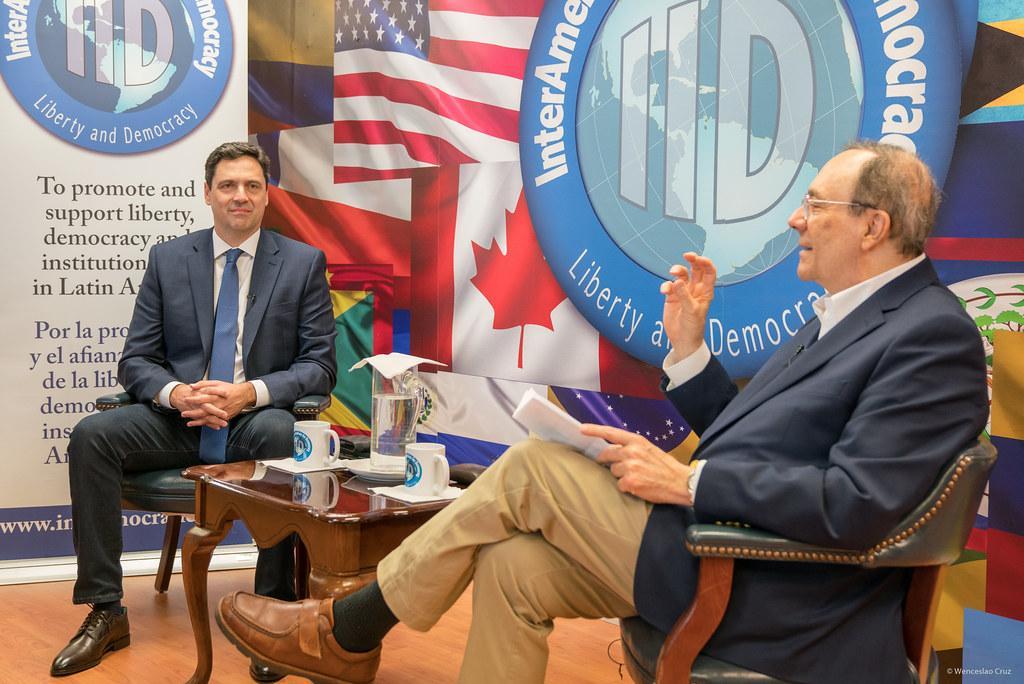 Le prince a la conservative political action conference en octobre 2019
