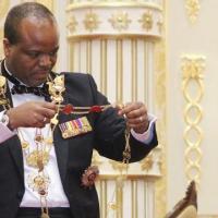 Le roi du swaziland Mswati III
