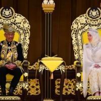 Le roi et la reine de malaisie