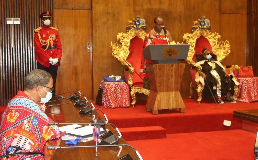 Le roi mswati iii annonce qu il a ete gueri du covid