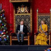 Le roi willem alexander et la reine maxima