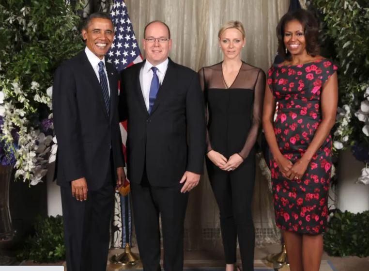 Les obama et les grimaldi