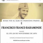 Louis de bourbon defend la memoire de franco