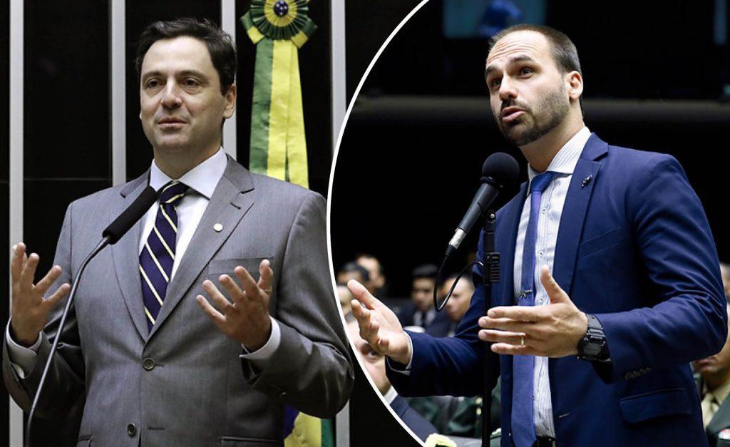 Bolsonaro Junior adoube Luiz-Philippe d'Orléans-Bragance