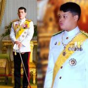 Maha Vajiralongkorn et Dipangkorn Rasmijoti