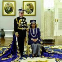 Couronnement du sultan de Johor en 2015