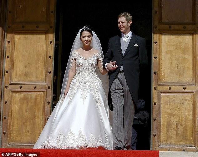 Mariage du prince leka avec elia zaharia