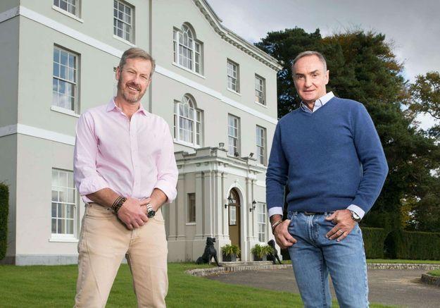 Lord Ivar Mountbatten et James Coyle
