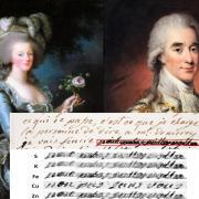 Marie-Antoinette et Axel de Fersen