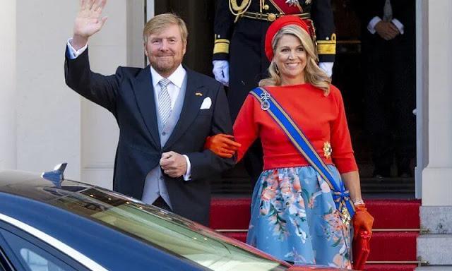 Le roi et la reine des Pays-Bas. photos@Patrickvankatwijk -getty images