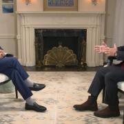 Abdallah de Jordanie interviewé par CNN
