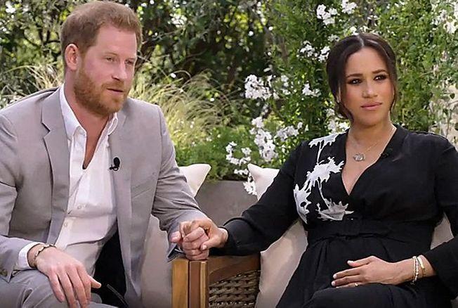 Harry et Meghan Markle sur CBS channel
