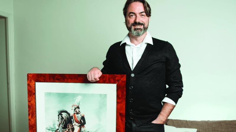 Le prince Joachim Murat Photo L'incorrect /Benjamin de Diesbach