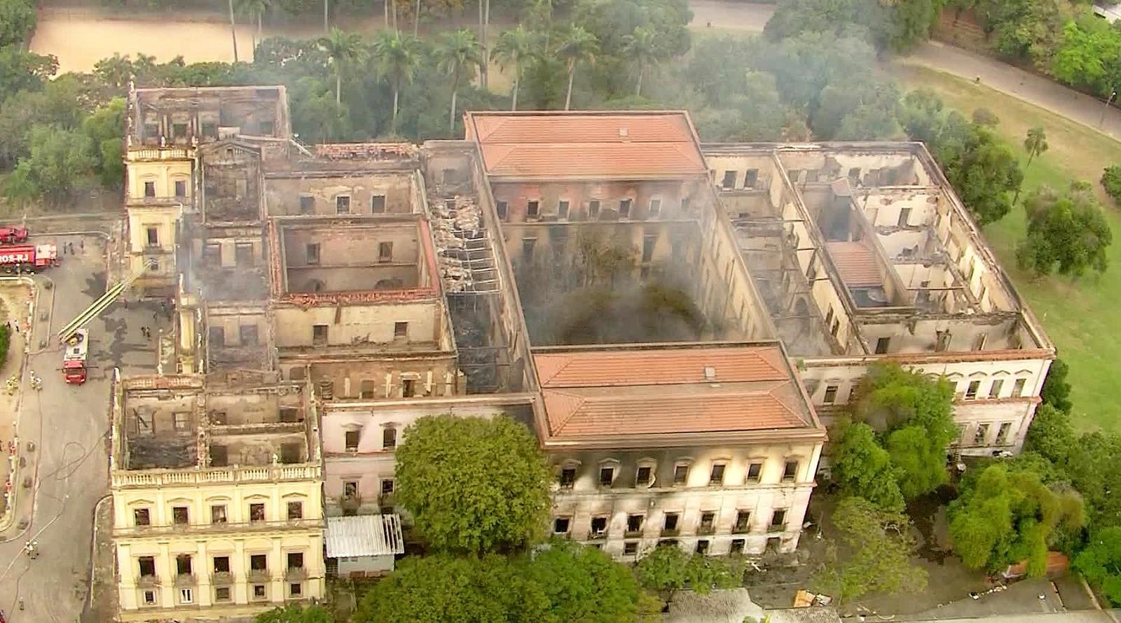 musée national de l'université fédérale de Rio de Janeiro