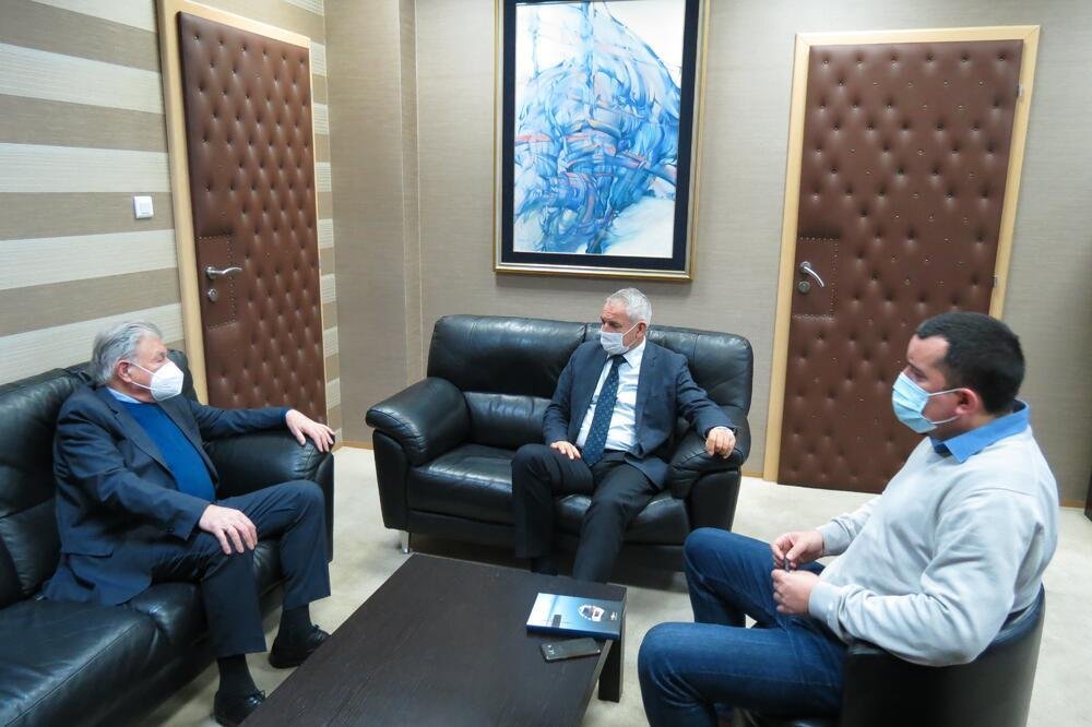 Nikola petrovi njegos recu au ministere de l ecologie. Foto: Ministarstvo ekologije prostornog planiranja i urbanizma