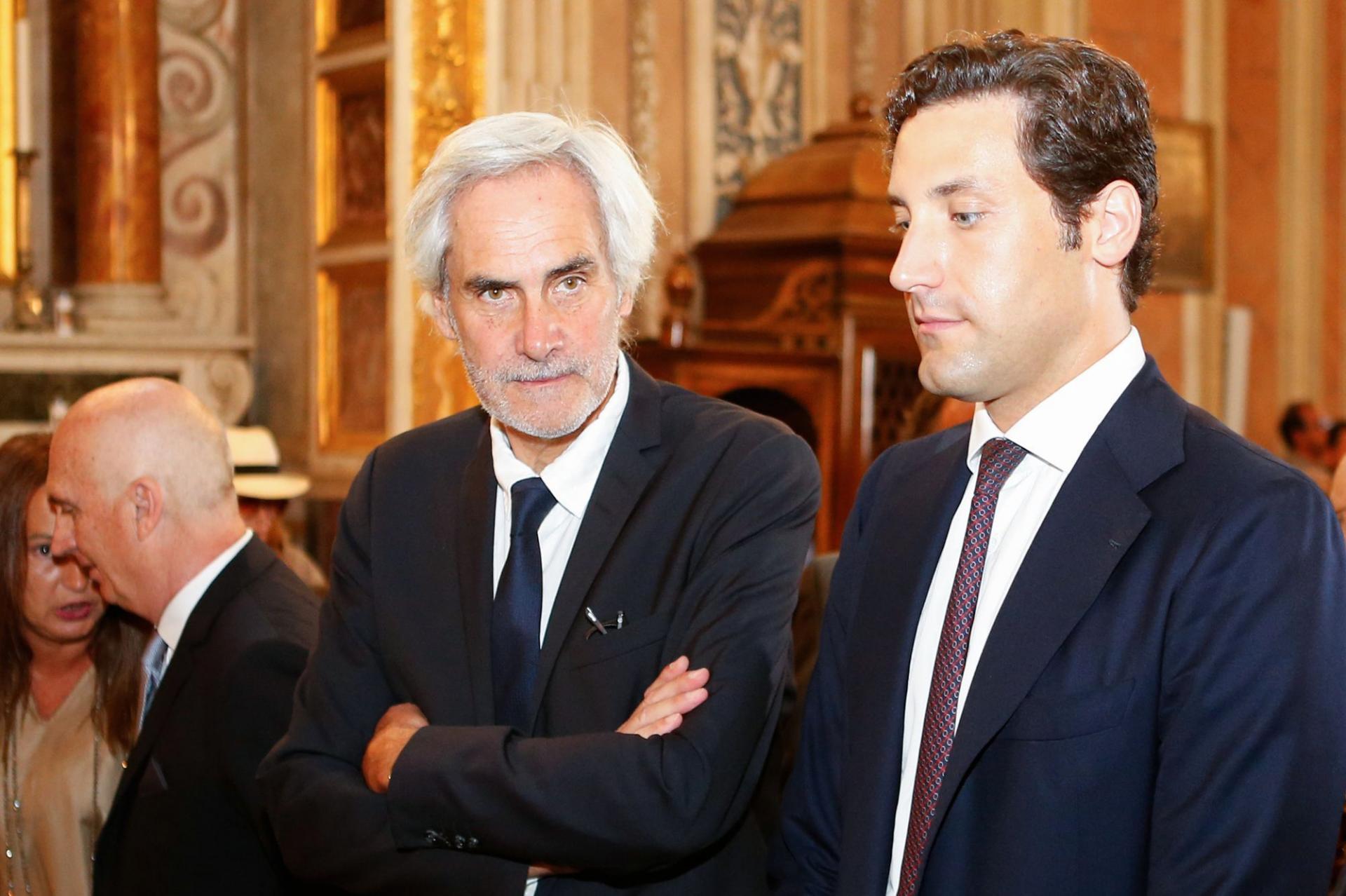 Charles Napoléon et Jean-Christophe Napoléon. Photo Pascal pochard casabianca afp