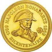 Piece commemorative du bicentenaire