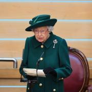 La reine Elizabeth II ouvre le parlement écossais