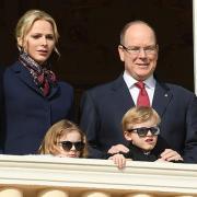 Charlène et Albert de Monaco, leurs enfants