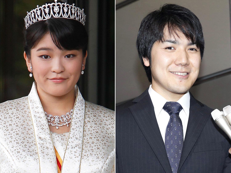 Princesse Mako et Kei Komuro