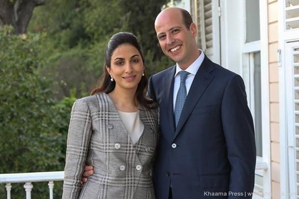 Princesse Noal Zaher et son epoux le prince mohammed d egypte