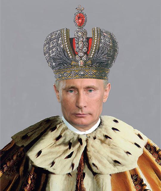 Vladimir Poutine, certains le rêvent en tsar