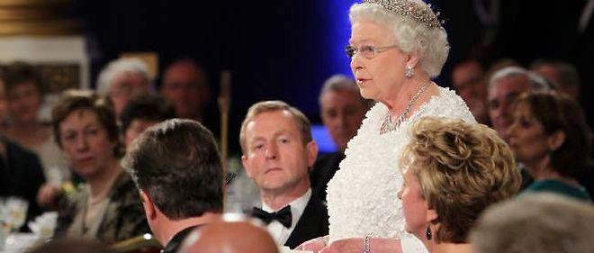 La reine Elizabeth II à Dublin