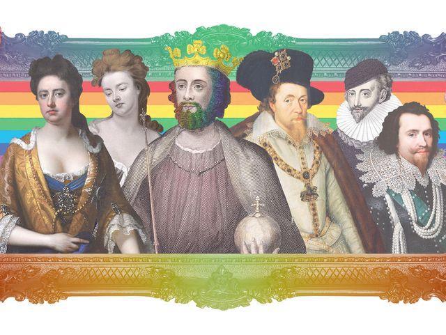 Rois et reines gays dans ll'Histoire