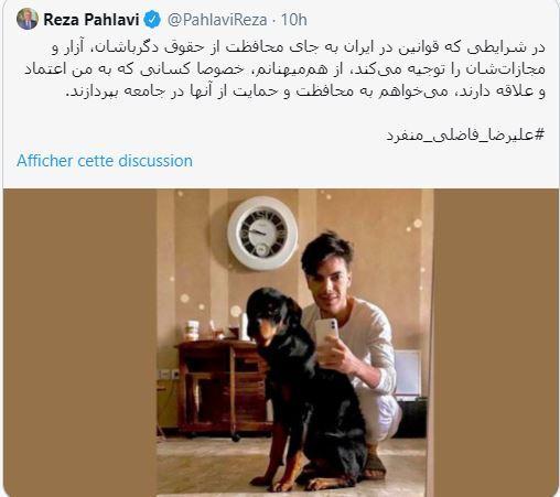 Reza Pahlavi apporte son soutien aux gays iraniens