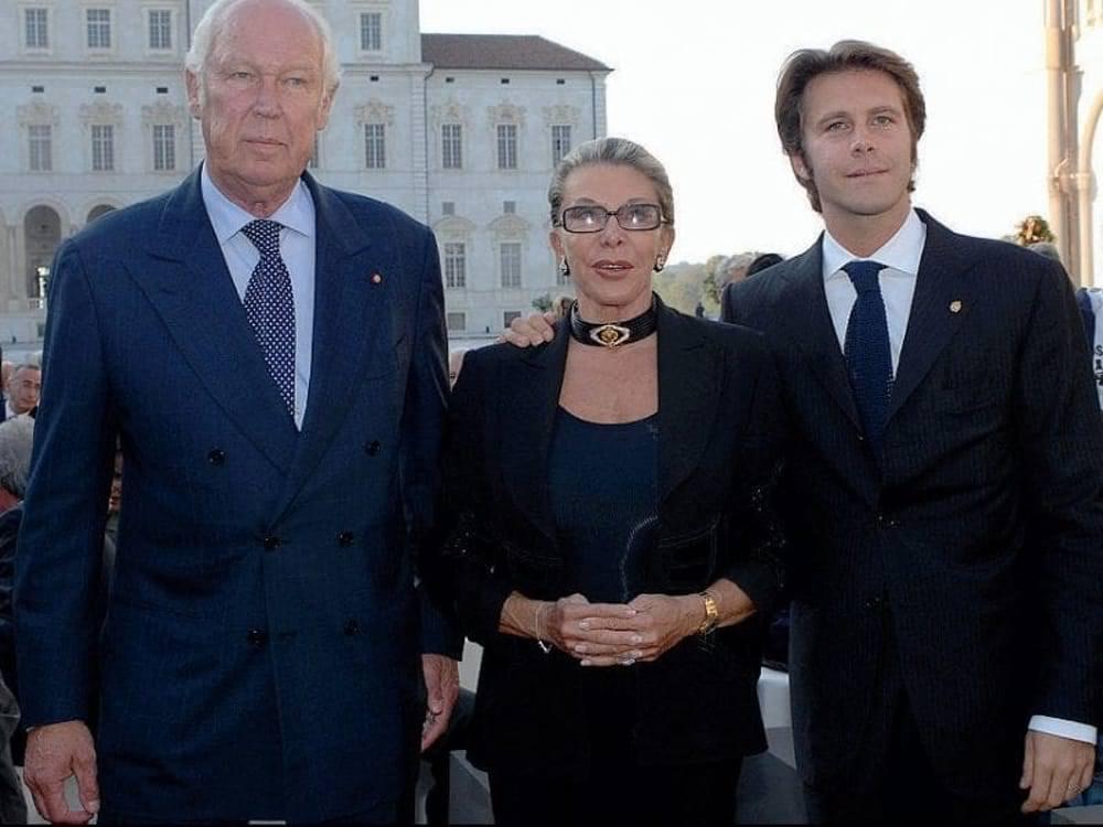 Victor-Emmanuel de Savoie, son épouse et son fils