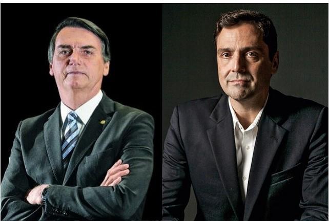 Le président Bolsobaro et le déput-prince Luiz-Philippe d'Orléans-Bragance